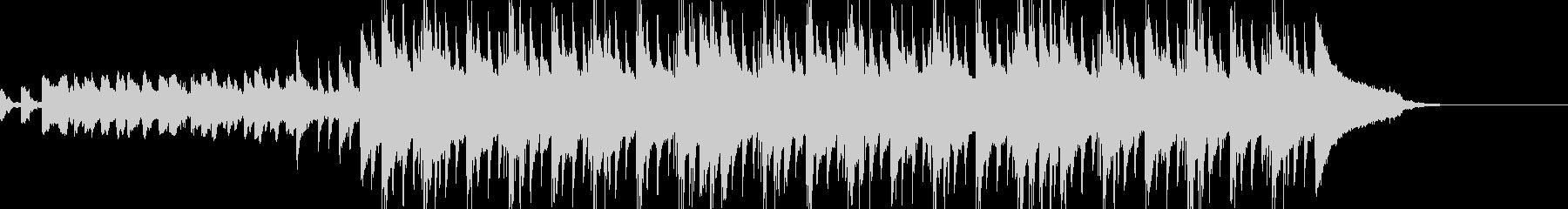 切ない旋律にグルーヴ感を加えたポップスの未再生の波形