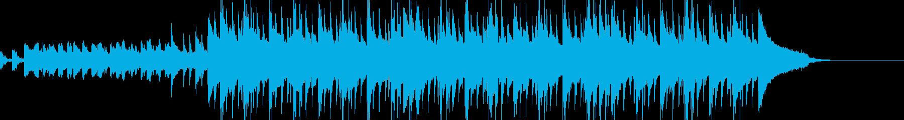切ない旋律にグルーヴ感を加えたポップスの再生済みの波形