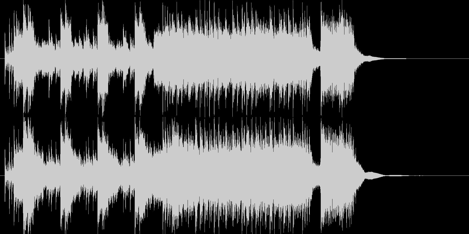 70年代ハードロック的なショートインストの未再生の波形