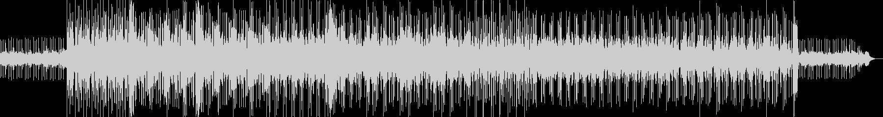 ロックの過剰なサイケデリック音楽。...の未再生の波形