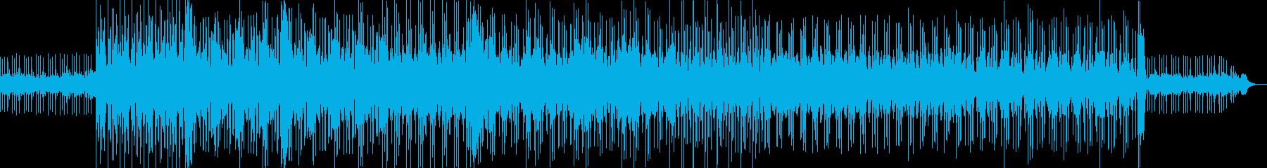ロックの過剰なサイケデリック音楽。...の再生済みの波形