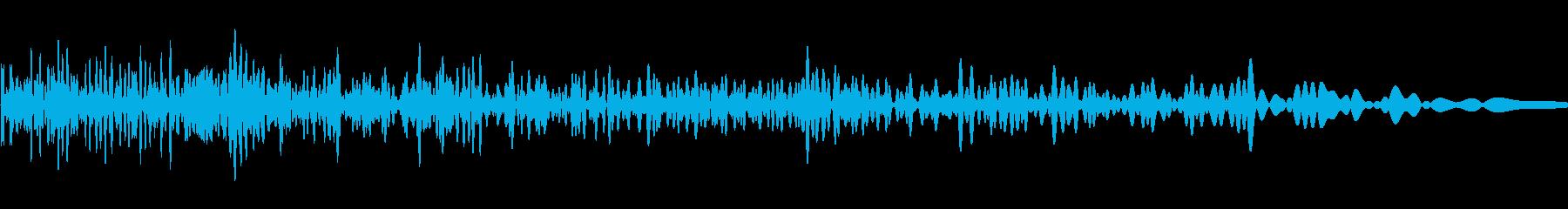 ハードアタックストップの再生済みの波形