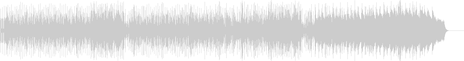 オリエンタルムードの変化のあるポップスの未再生の波形