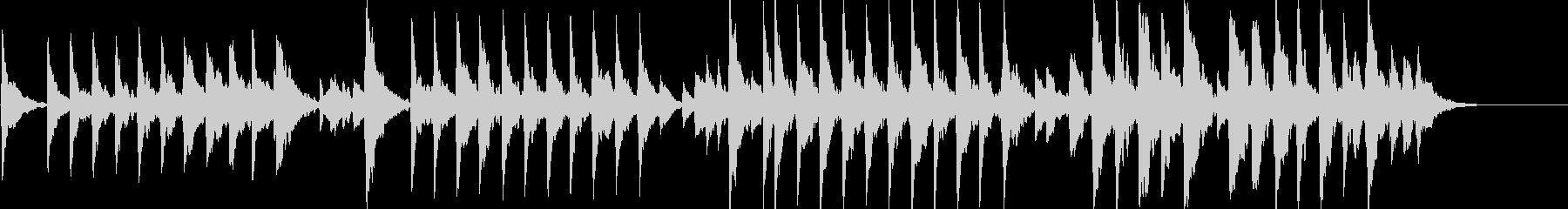 童謡「夕焼け小焼け」オルゴールbpm86の未再生の波形