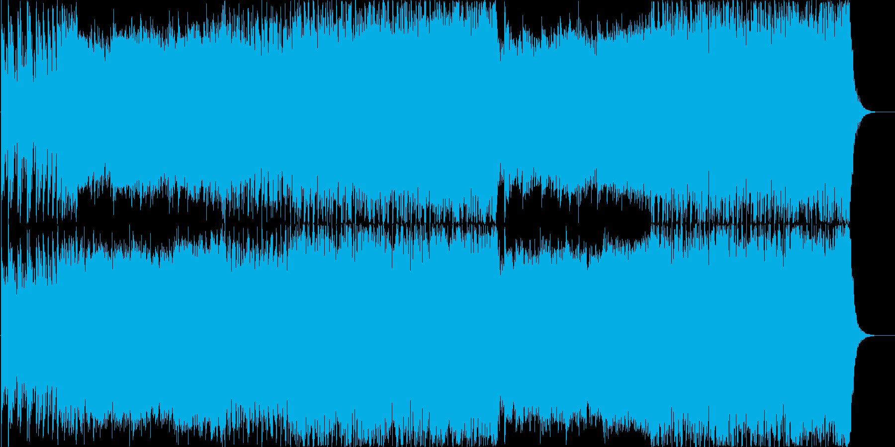 迫力のデジタルロックオーケストラの再生済みの波形