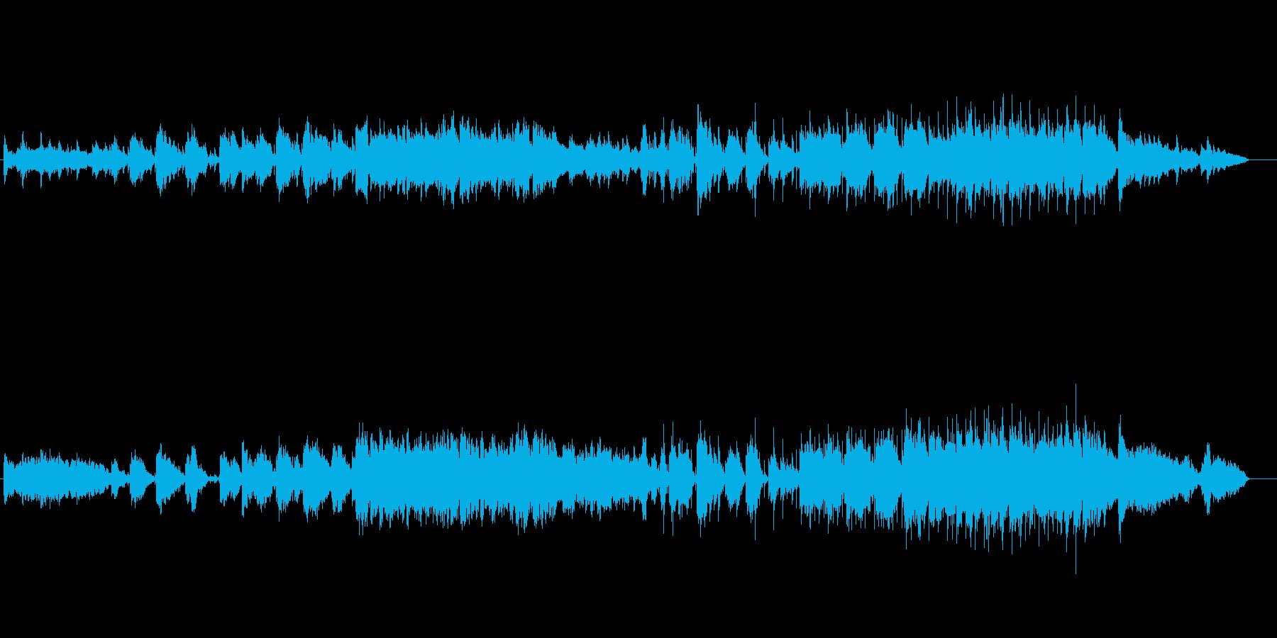 サックスが高らかに奏でる愛のメロディーの再生済みの波形