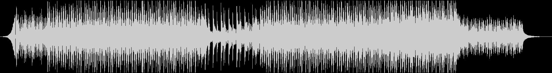 エレキギター ピアノ クール 映像用の未再生の波形