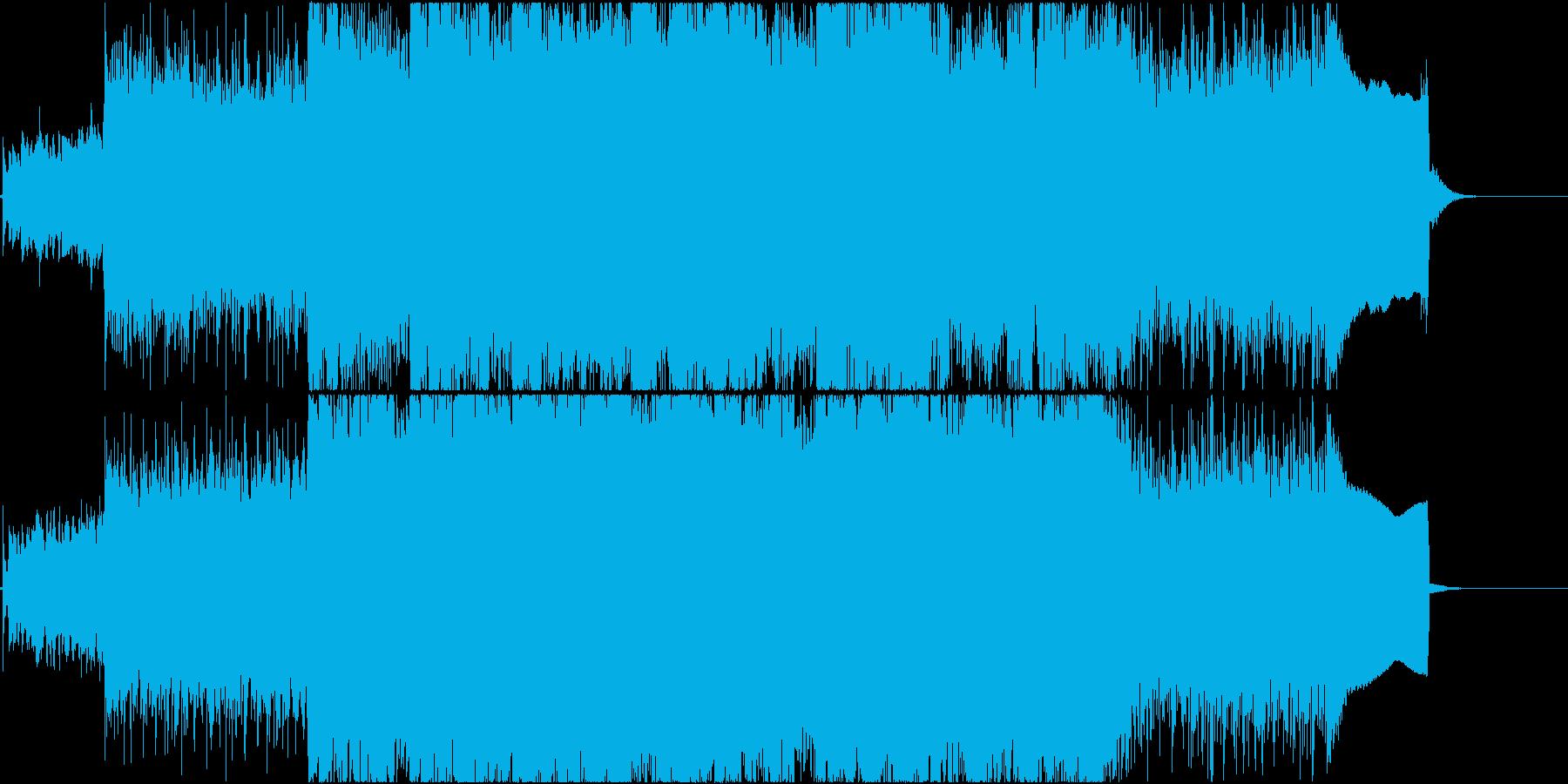 U2 Coldplay的で壮大なロックの再生済みの波形