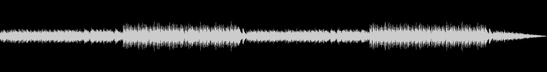 壮大で幻想的な雰囲気のオルゴールBGMの未再生の波形