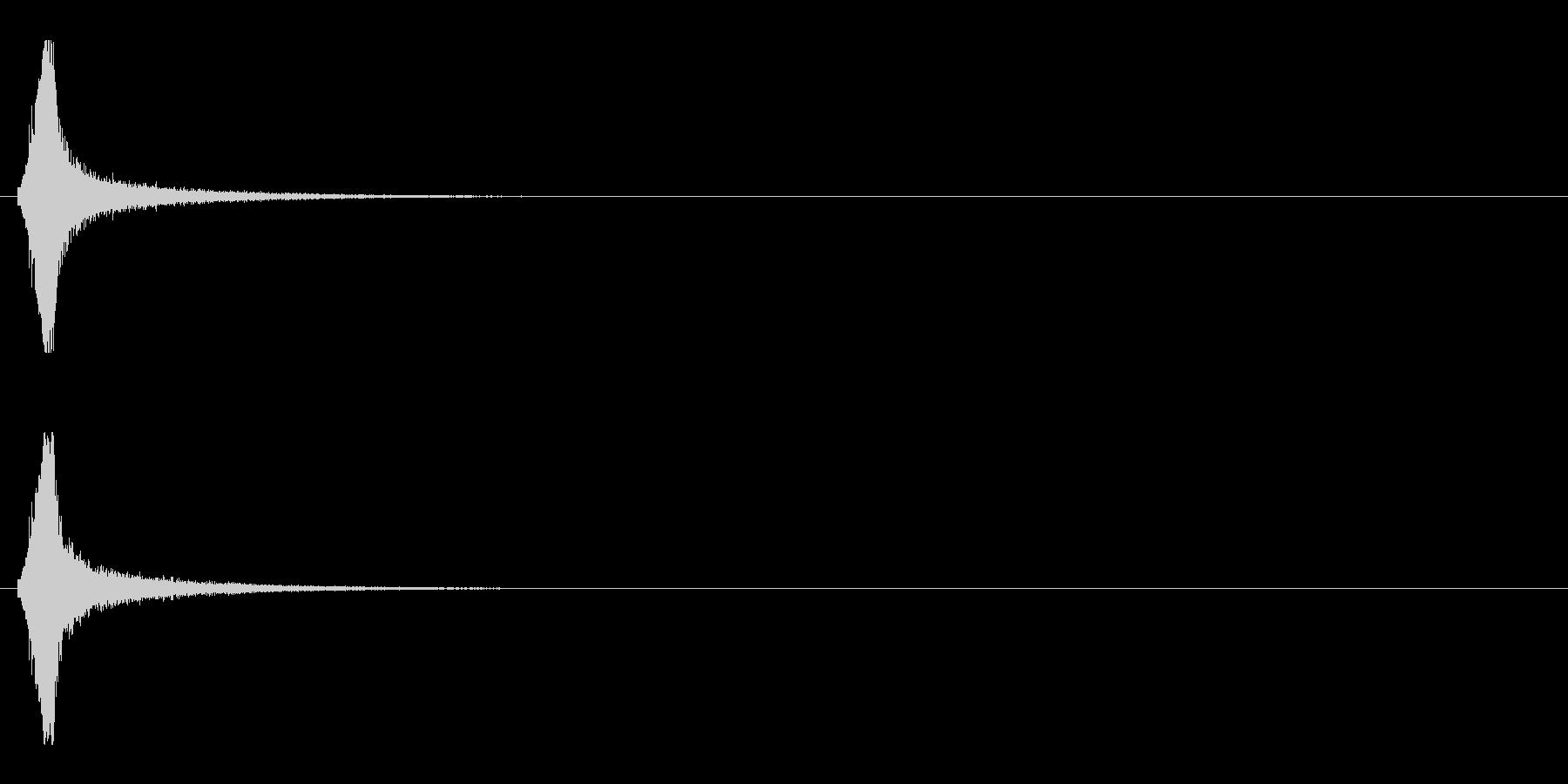 レーザー音-154-1の未再生の波形