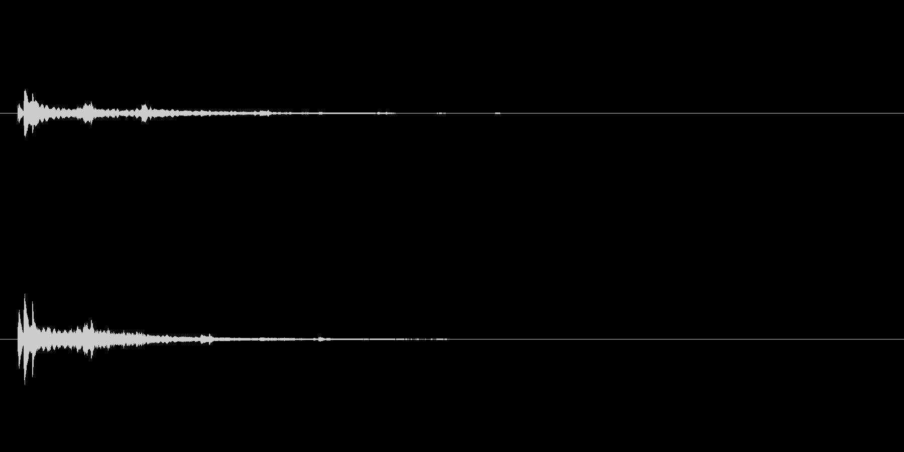 キランキランキラン・・/リフレインのベルの未再生の波形