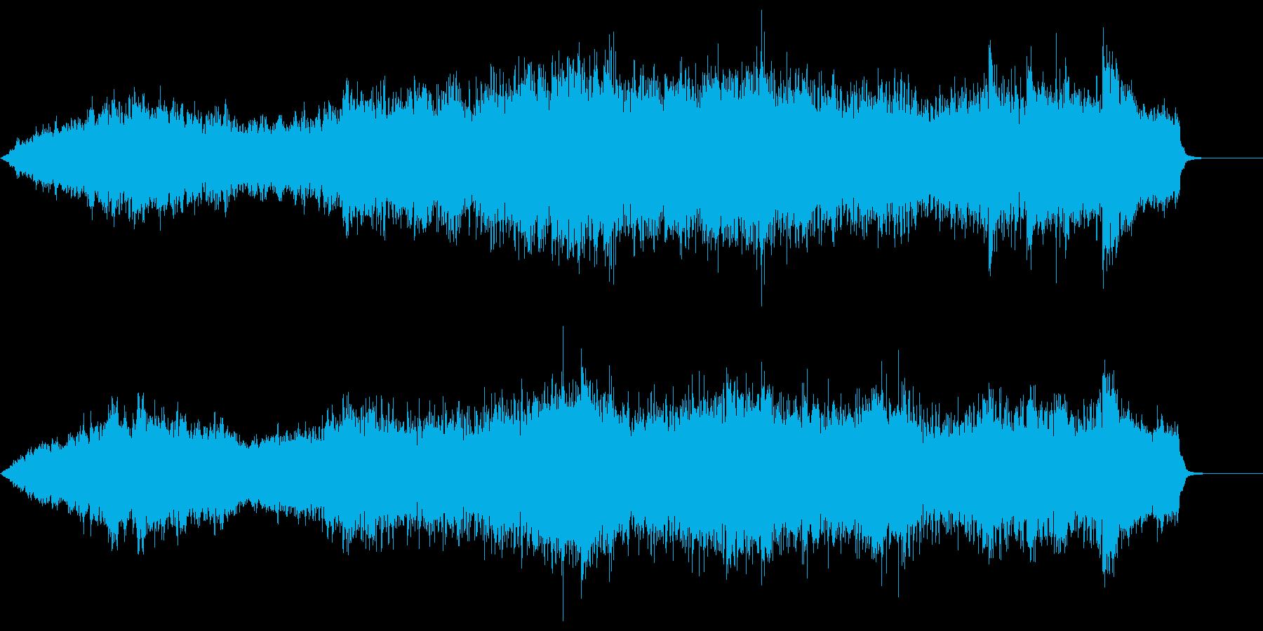 壮大に広がる弦楽器が印象的な背景音楽の再生済みの波形