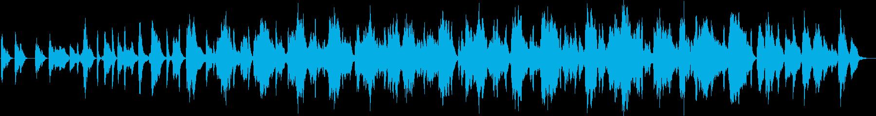 王道の和風ミニマルアンビエントの再生済みの波形