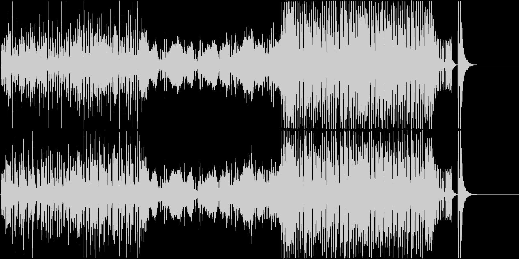 室内楽&ジャズの怪し可愛いハロウィン曲の未再生の波形