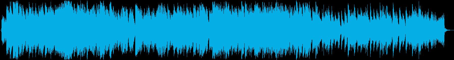 ピアノ フルート ほのぼの ドラマチックの再生済みの波形