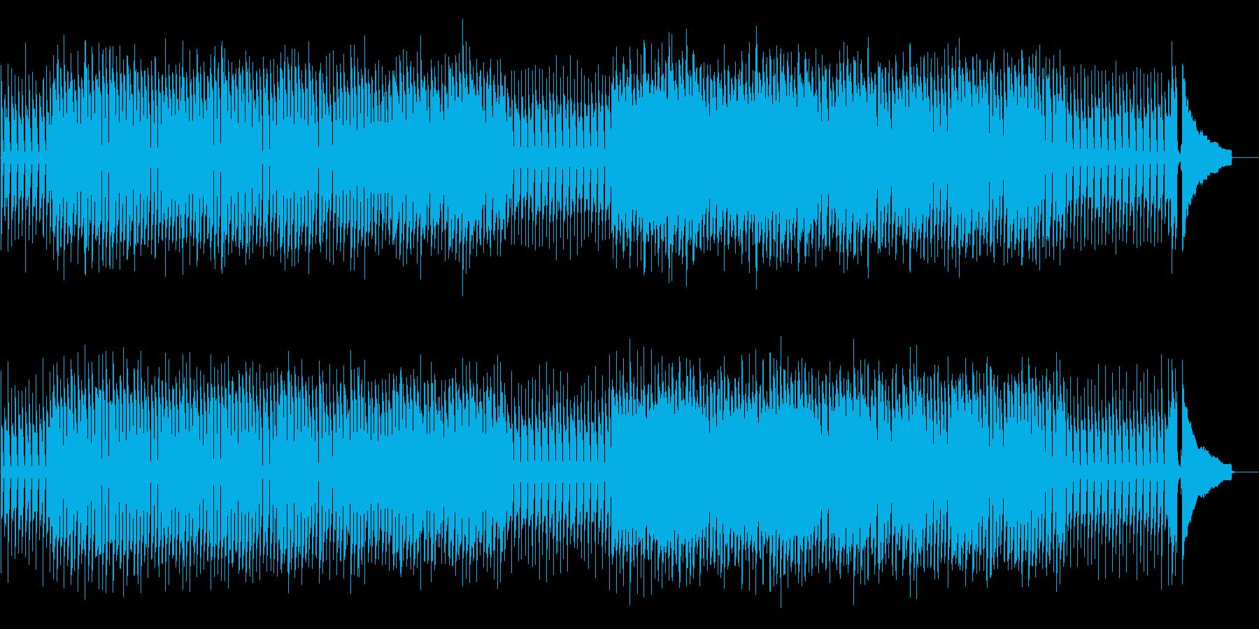 ほのぼのかわいい日常系ポップスの再生済みの波形