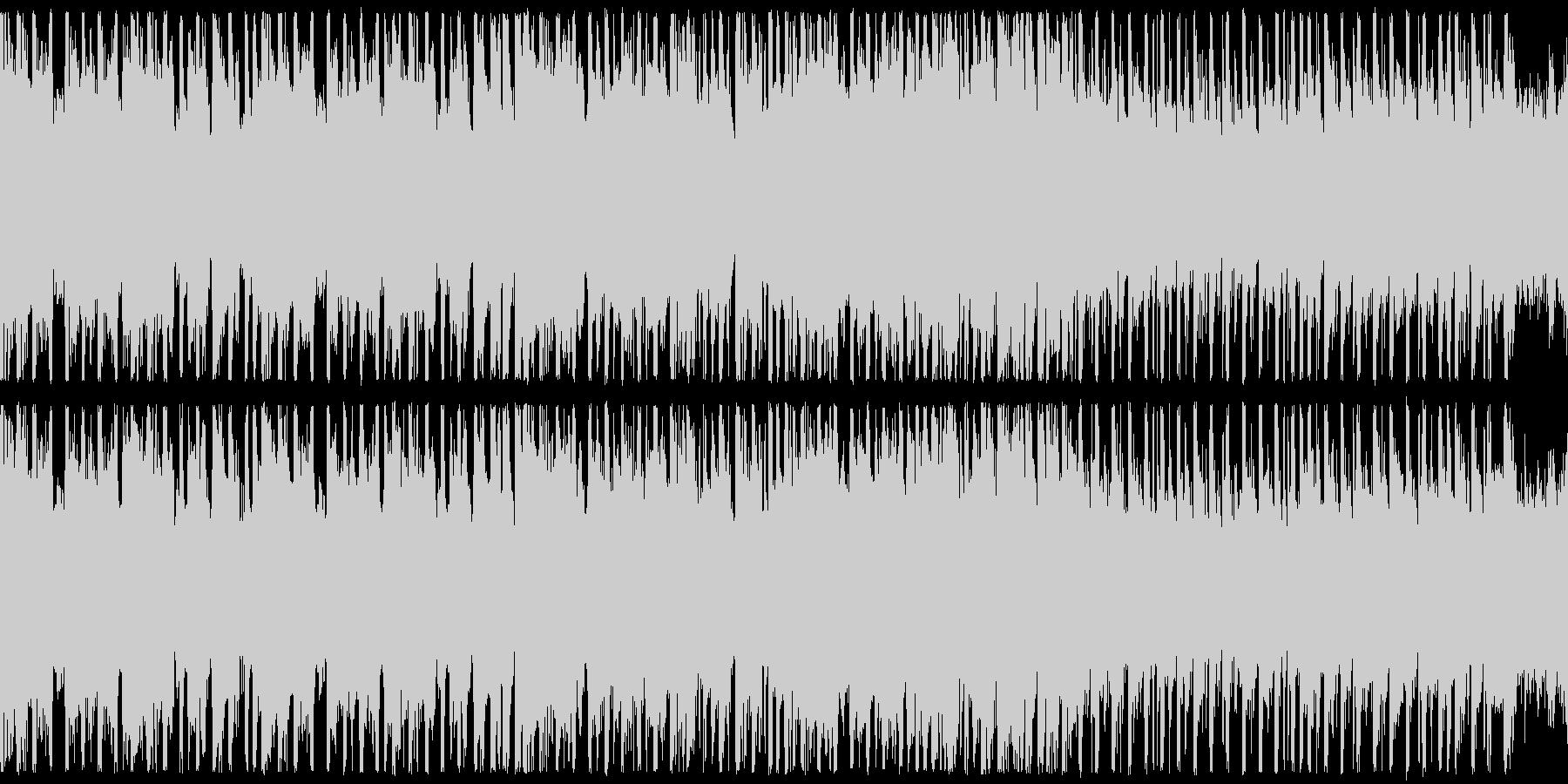 ループ,ハイテンションRPGバトルの未再生の波形
