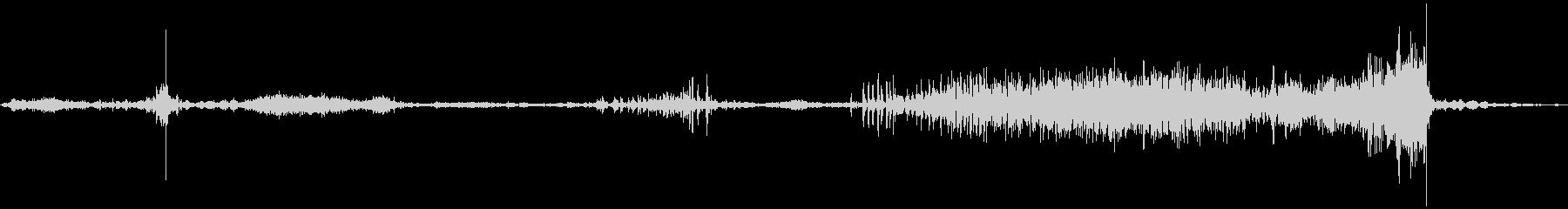 ラップトップコンピューターケース:...の未再生の波形
