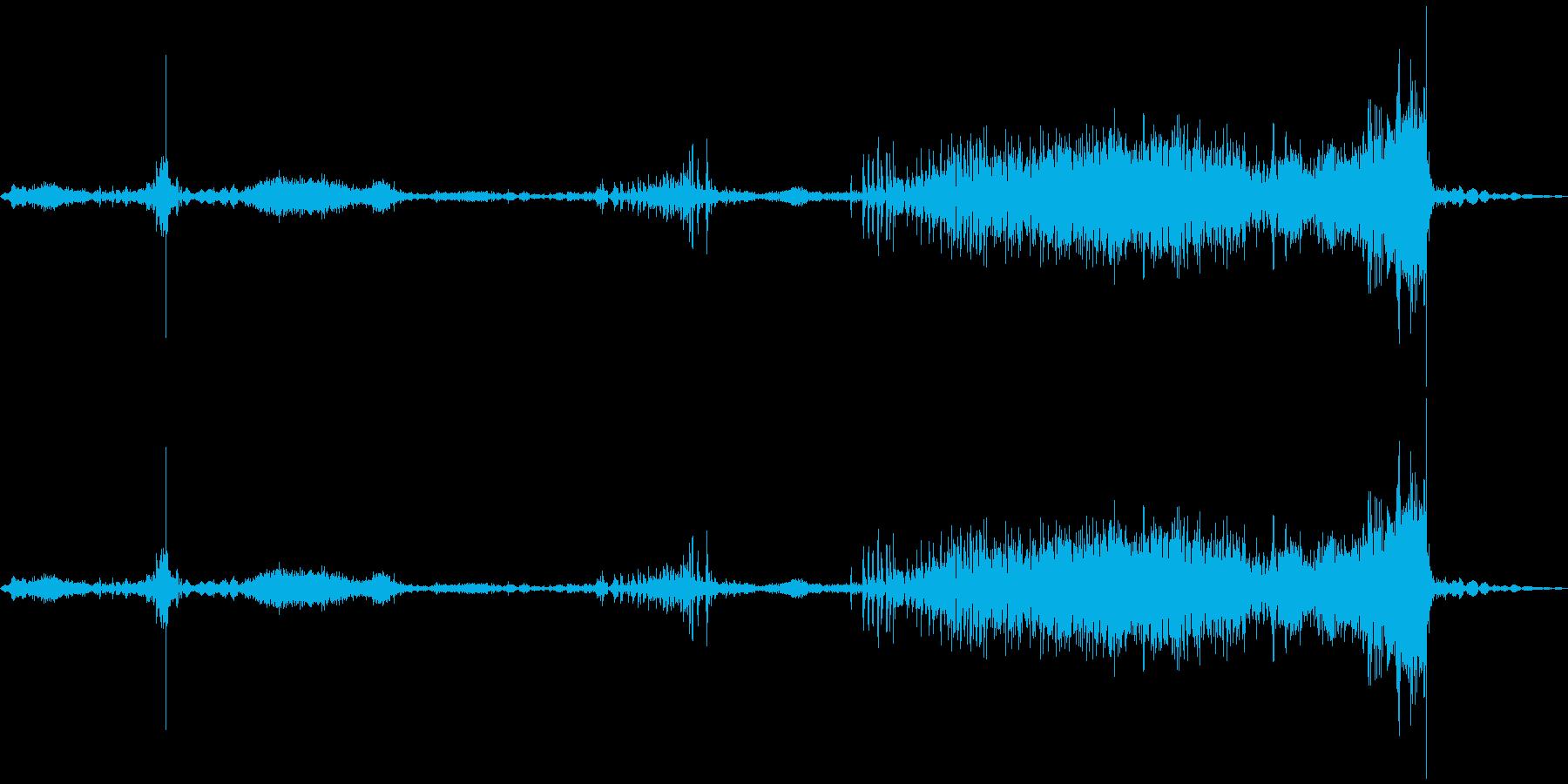 ラップトップコンピューターケース:...の再生済みの波形