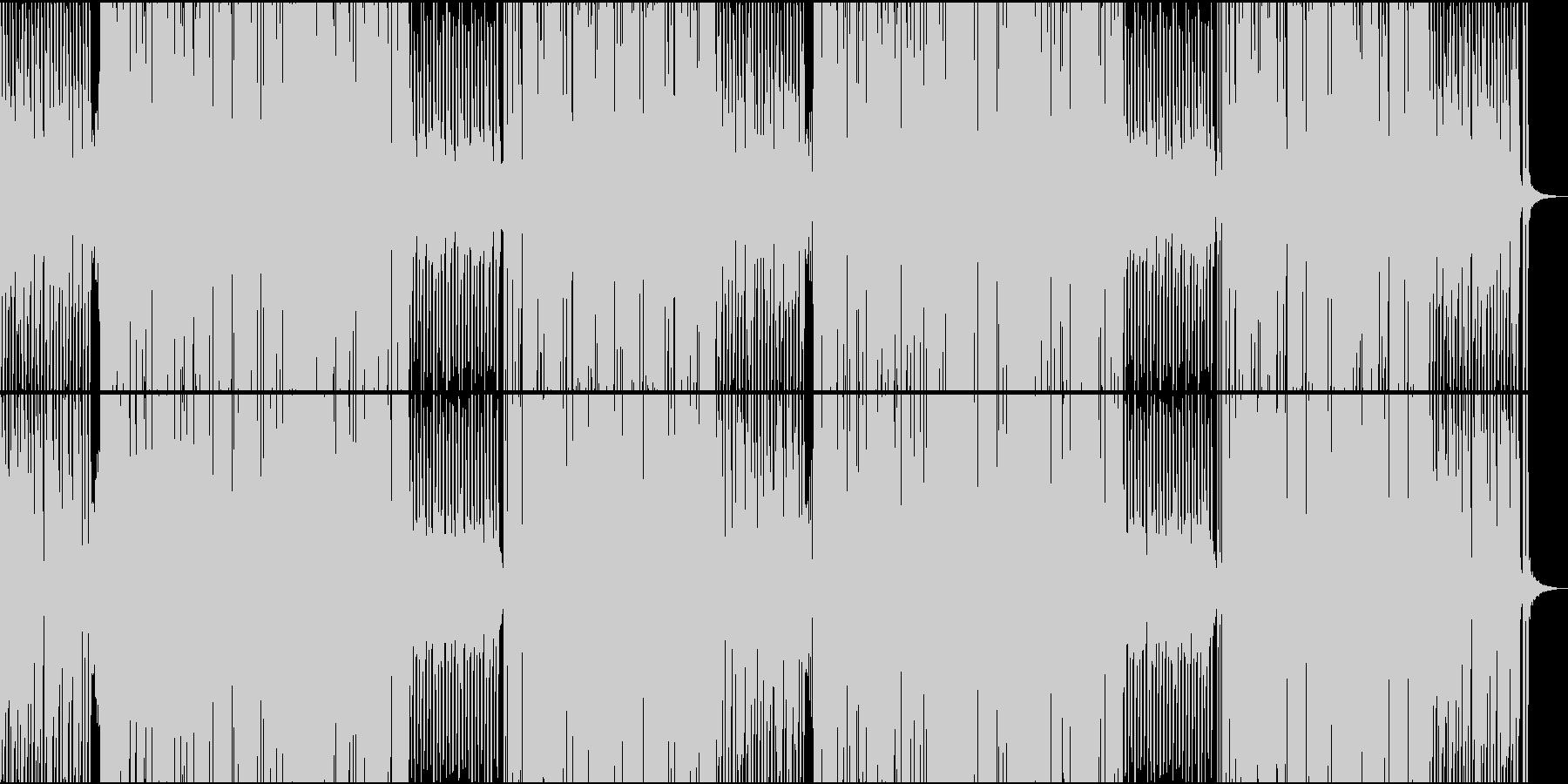 70'~80'年代のディスコ風21の未再生の波形