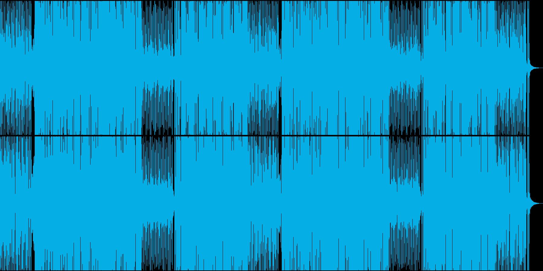 70'~80'年代のディスコ風21の再生済みの波形