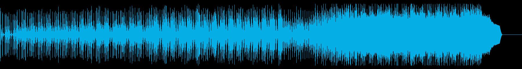 可愛いく切なさもあるポップロックの再生済みの波形