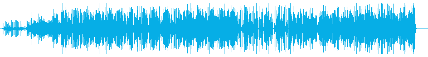 クイズ番組の問題の出題・シンキングタイムの再生済みの波形