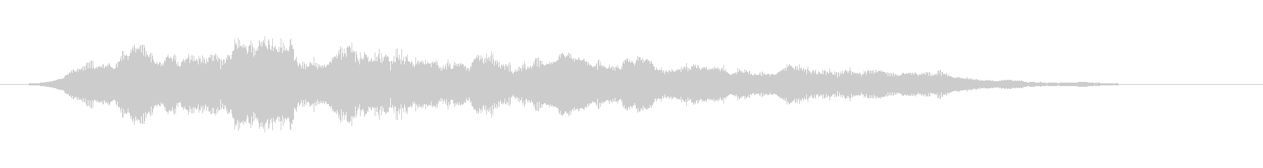 ホラーな低音 緊迫感や恐怖を描く音の未再生の波形