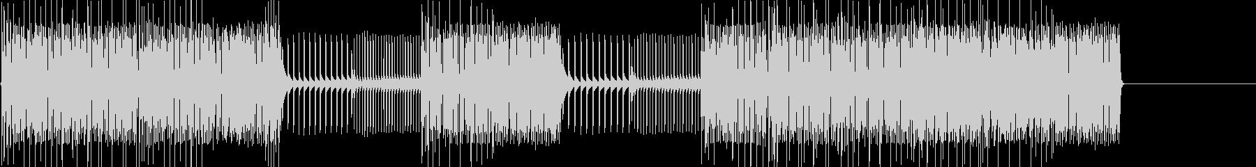 レトロゲームなチップチューンジングル28の未再生の波形