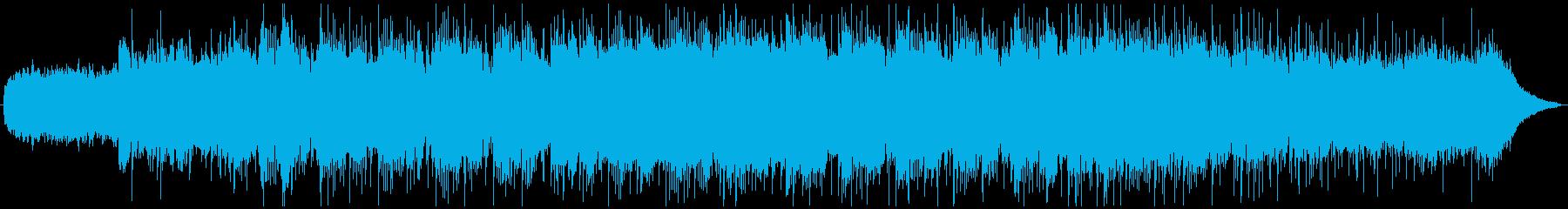 ゆったりとしたビートが特徴のチルアウトの再生済みの波形
