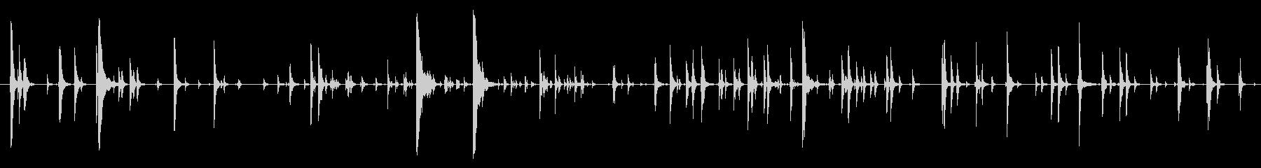 家庭 カップガラガラジングル02の未再生の波形