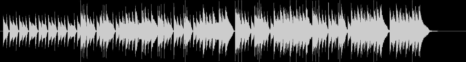 Gentle waltz, acoustic sound's unreproduced waveform