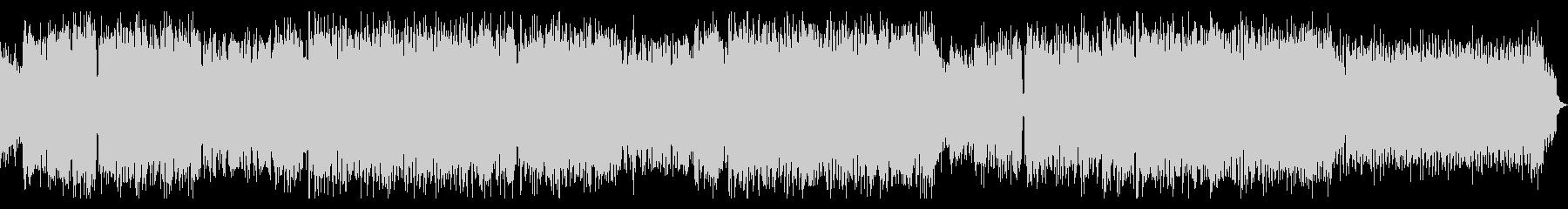 エキサイティングなエレクトロサウンドの未再生の波形