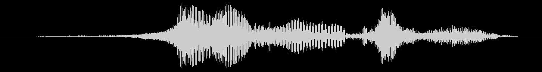 スーパーストック:高速で3つの低音...の未再生の波形