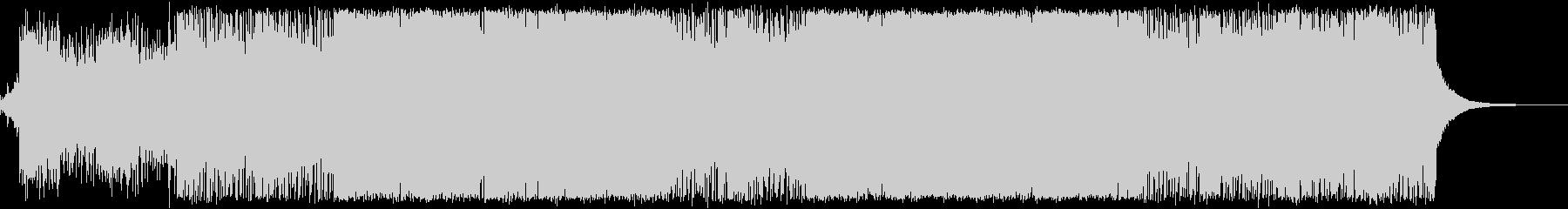 ボス戦/アクション/エレクトロの未再生の波形
