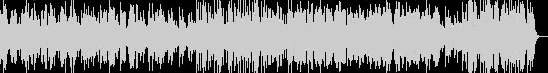マリンバとシンセサイザーをベースに...の未再生の波形