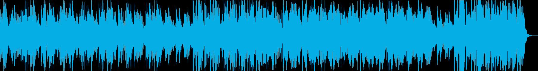 マリンバとシンセサイザーをベースに...の再生済みの波形