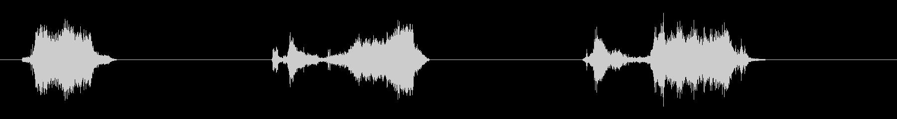 油圧式の未再生の波形