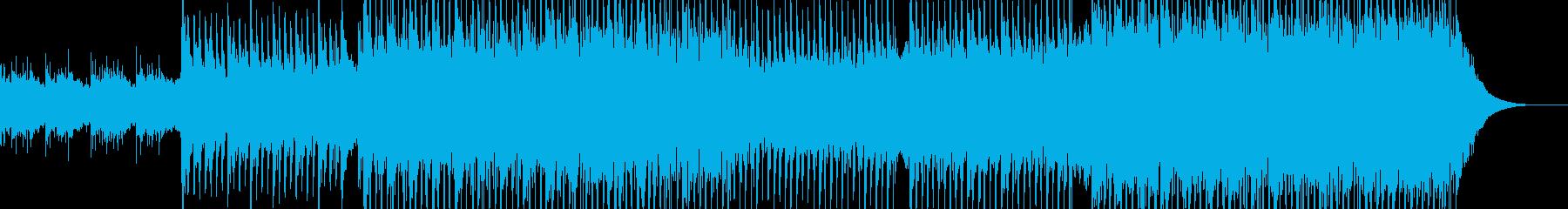 ポップ テクノ ロック 広い 壮大...の再生済みの波形