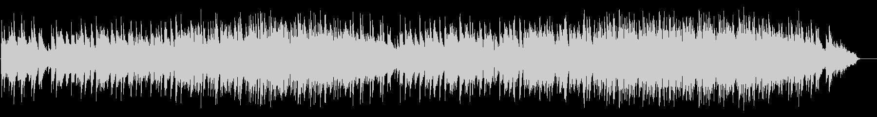 落着いたピアノ風バラード(フルサイズ)の未再生の波形
