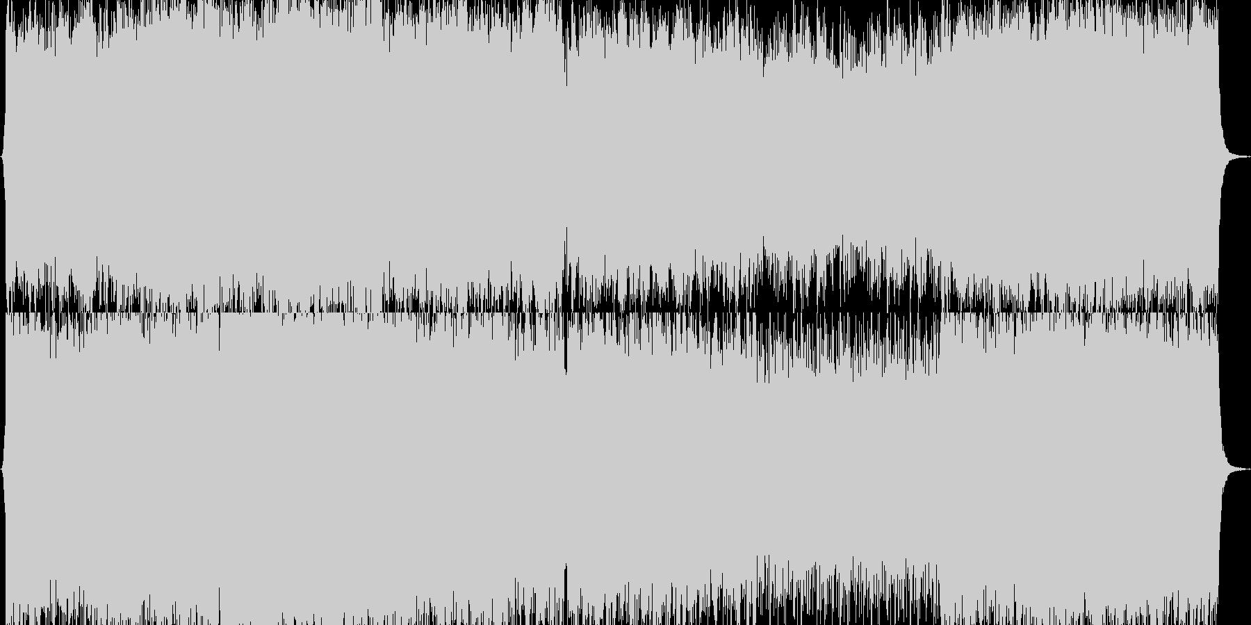 スペクタクル映画の迫力のBGMのイメージの未再生の波形