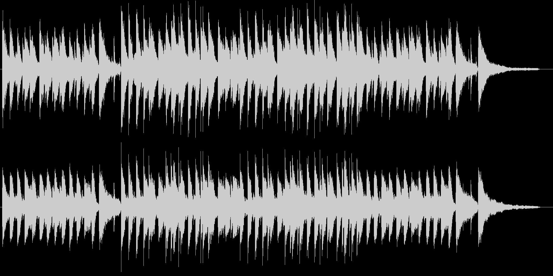明るくポジティブな流行のサウンド♪の未再生の波形