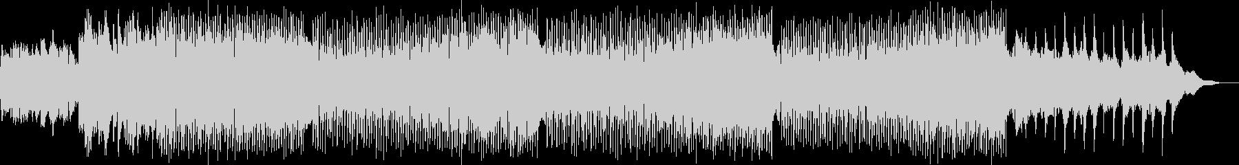 柔らかいシンセサイザーの16ビートの未再生の波形