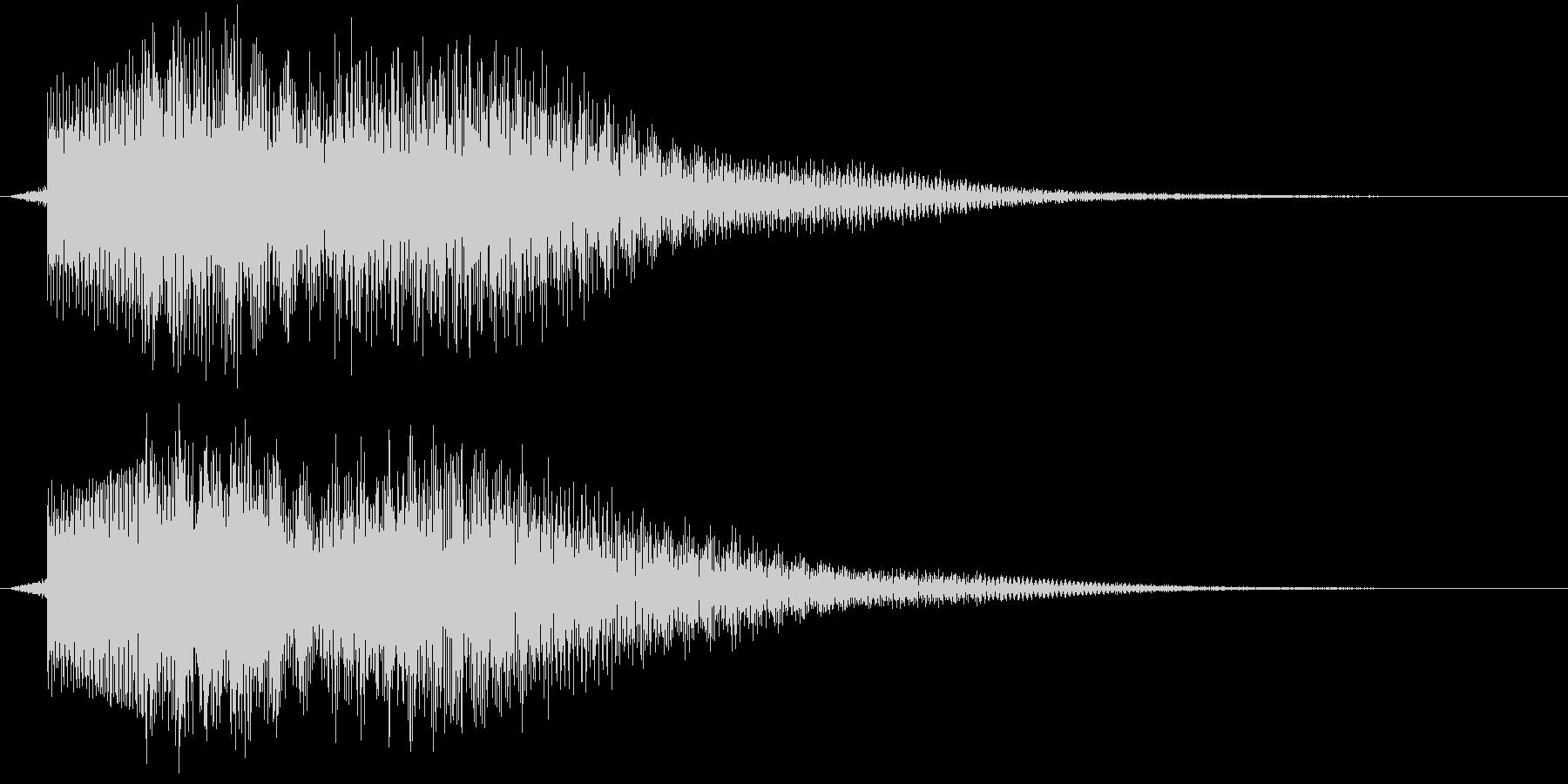 ティロロンの未再生の波形