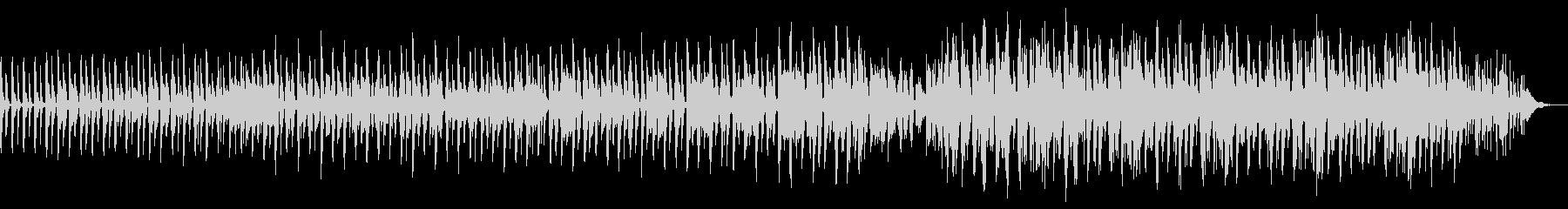 ファンク風エレクトリックベースチューンの未再生の波形