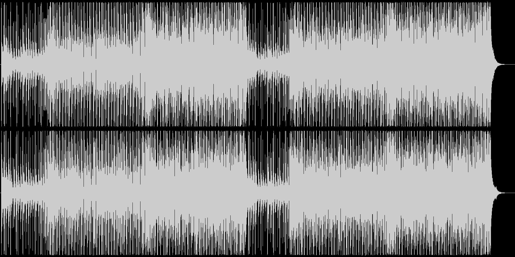 切ない雰囲気 トロピカルハウス、EDMの未再生の波形