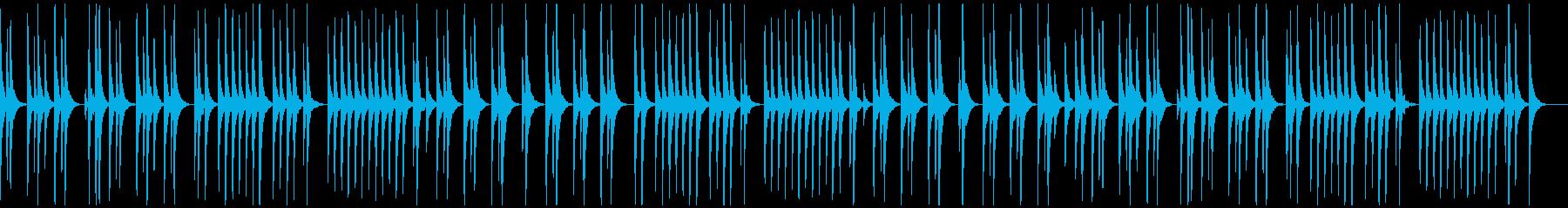 マリンバ、素朴、ほのぼの、小動物の観察の再生済みの波形
