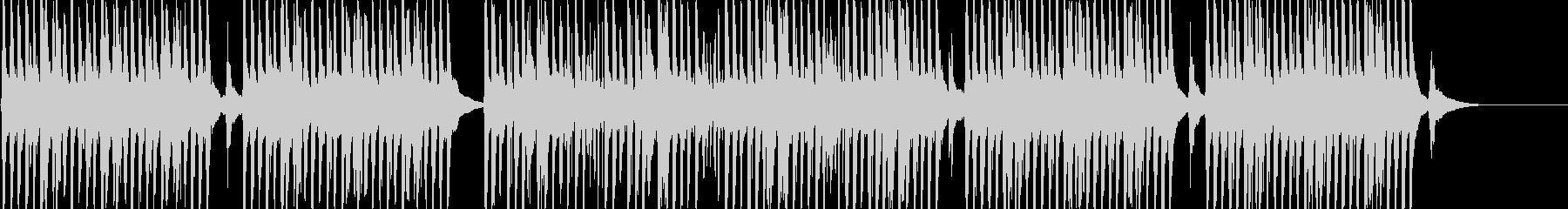 YouTubeに楽しげな口笛&トイピアノの未再生の波形