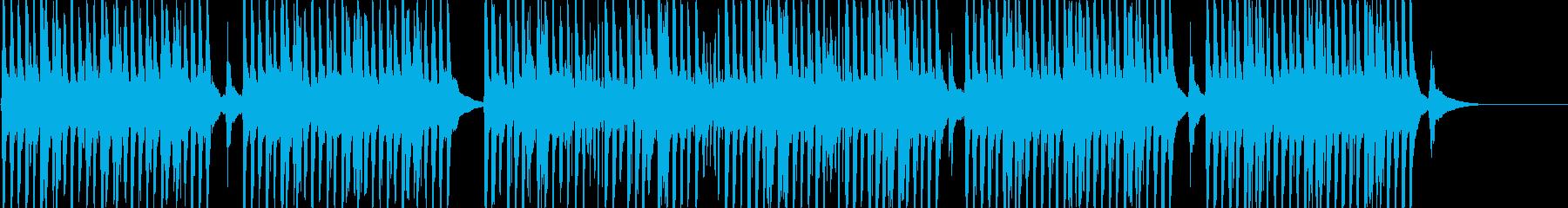 YouTubeに楽しげな口笛&トイピアノの再生済みの波形