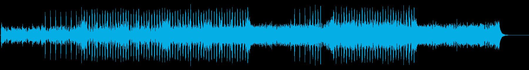 ストリングス・爽やか・シティポップ風の再生済みの波形